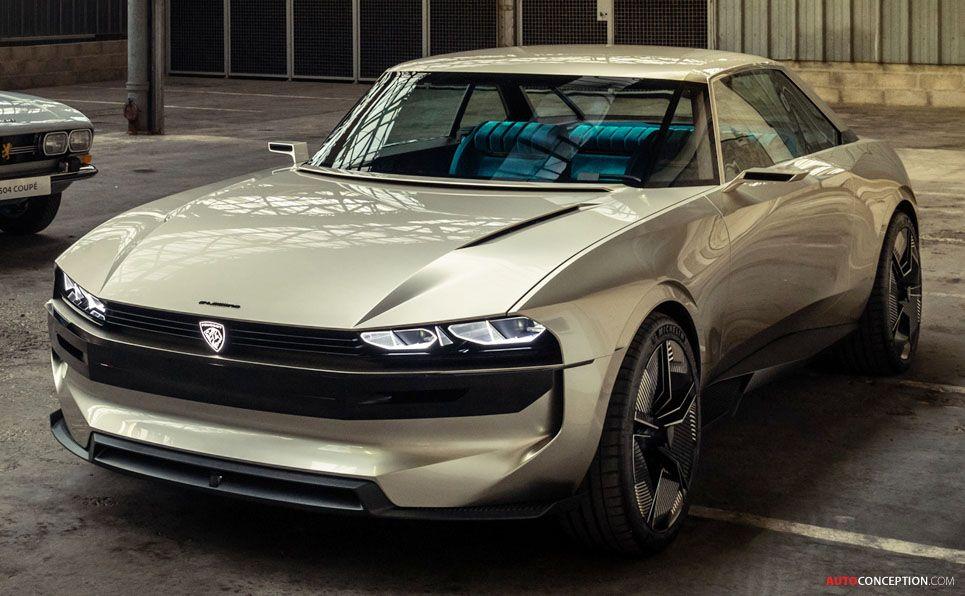 Peugeot Reveals Retro-Futuristic 'e-LEGEND' Concept #conceptcars