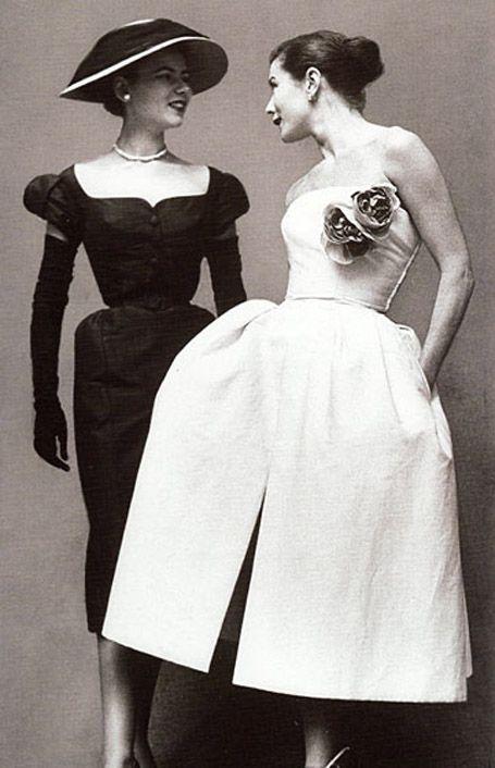 Inez & Minnie for Vintage Jean Patou, 1952.