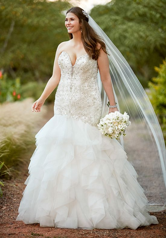 Essense of Australia D2389 Mermaid Wedding Dress | Gorgeous Wedding ...