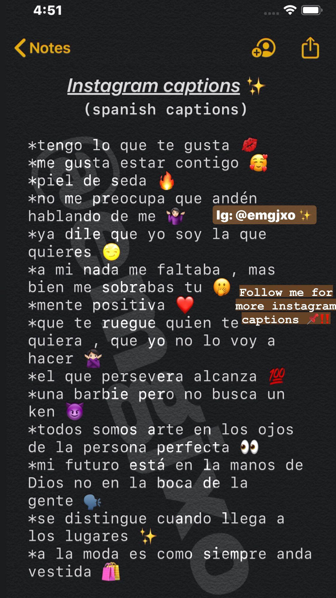 Baddie Captions In Spanish : baddie, captions, spanish, Instagram, Captions, Spanish), Witty, Captions,
