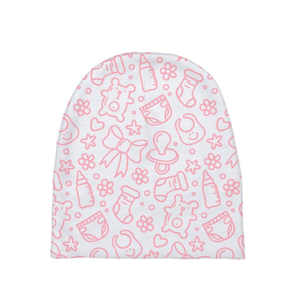 These baby beanies are a great gift for any fashionable infant or ...