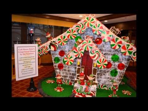 Diy Christmas Decorating Ideas Gingerbread House Candyland Theme You Christmas Cubicle Decorations Gingerbread House Decorations Office Christmas Decorations