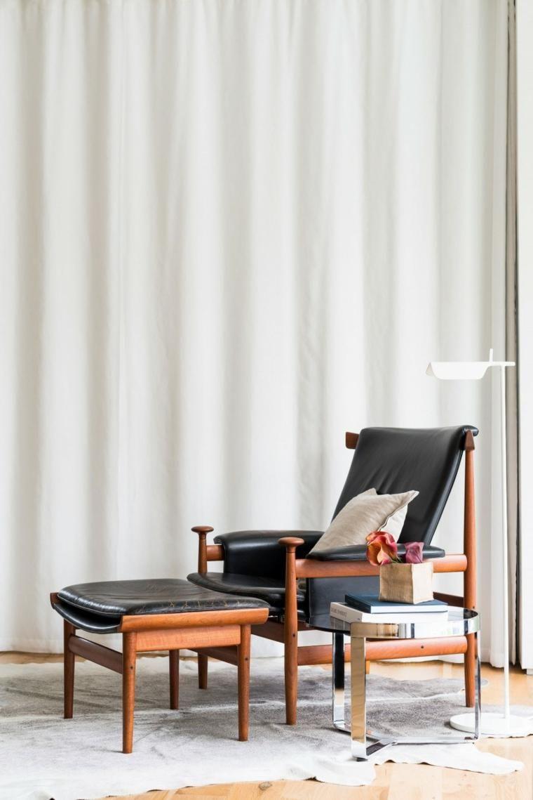 Wohnmöbel des natürlichen Designs im modernen Haus | Haus