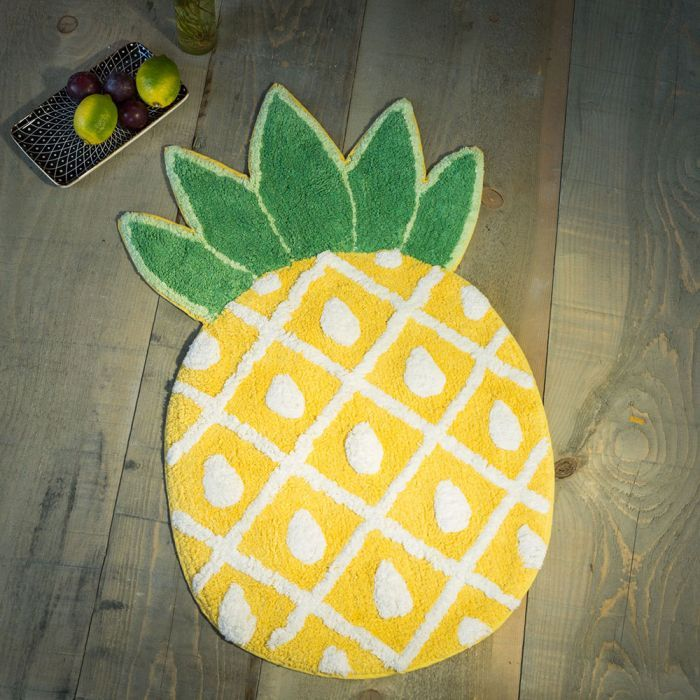Ananas Badezimmerteppich Blitzlieferung Haben Will Pinterest