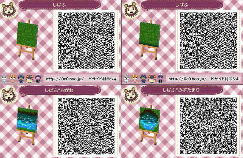 Nature Cobblestone Path Part 5 Out Of 7 Animal Crossing Qr Animal Crossing Animal Crossing 3ds