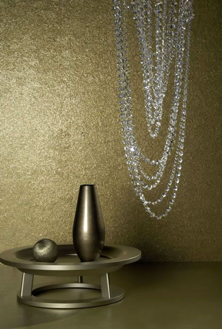 Luxus Tapete 27 luxury wallcoverings Gold Metall Glanz im Online - tapeten wohnzimmer beige