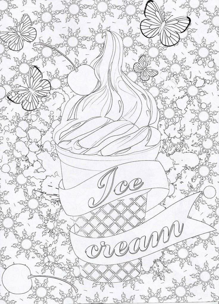 бесплатно раскраски про еду 1 | Бесплатные раскраски ...