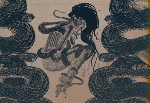 Snakebite, Pen Ink Print