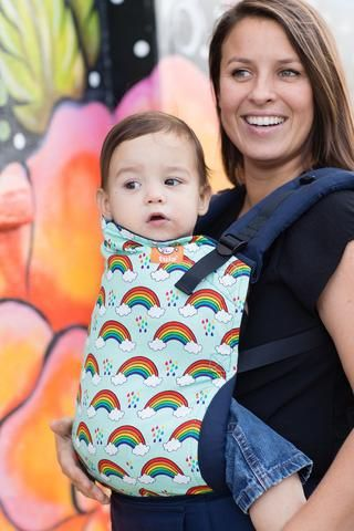 b1ddaac82a6 Canvas - Tula Release  Rainbow Showers  TULA BABY CARRIER