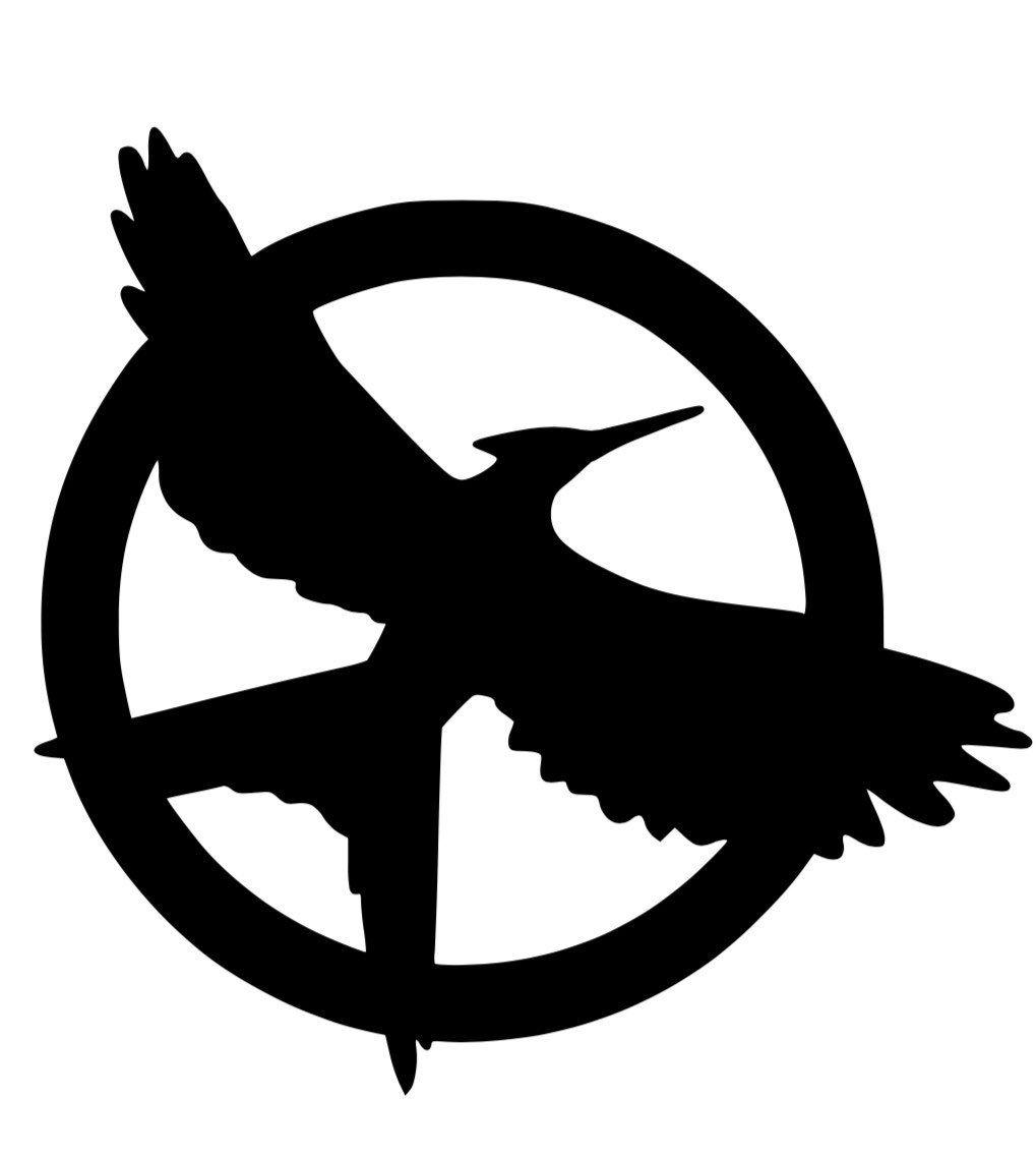 Hunger Games Mockingjay Decal Etsy Hunger Games Mockingjay Hunger Games Hunger Games Tattoo
