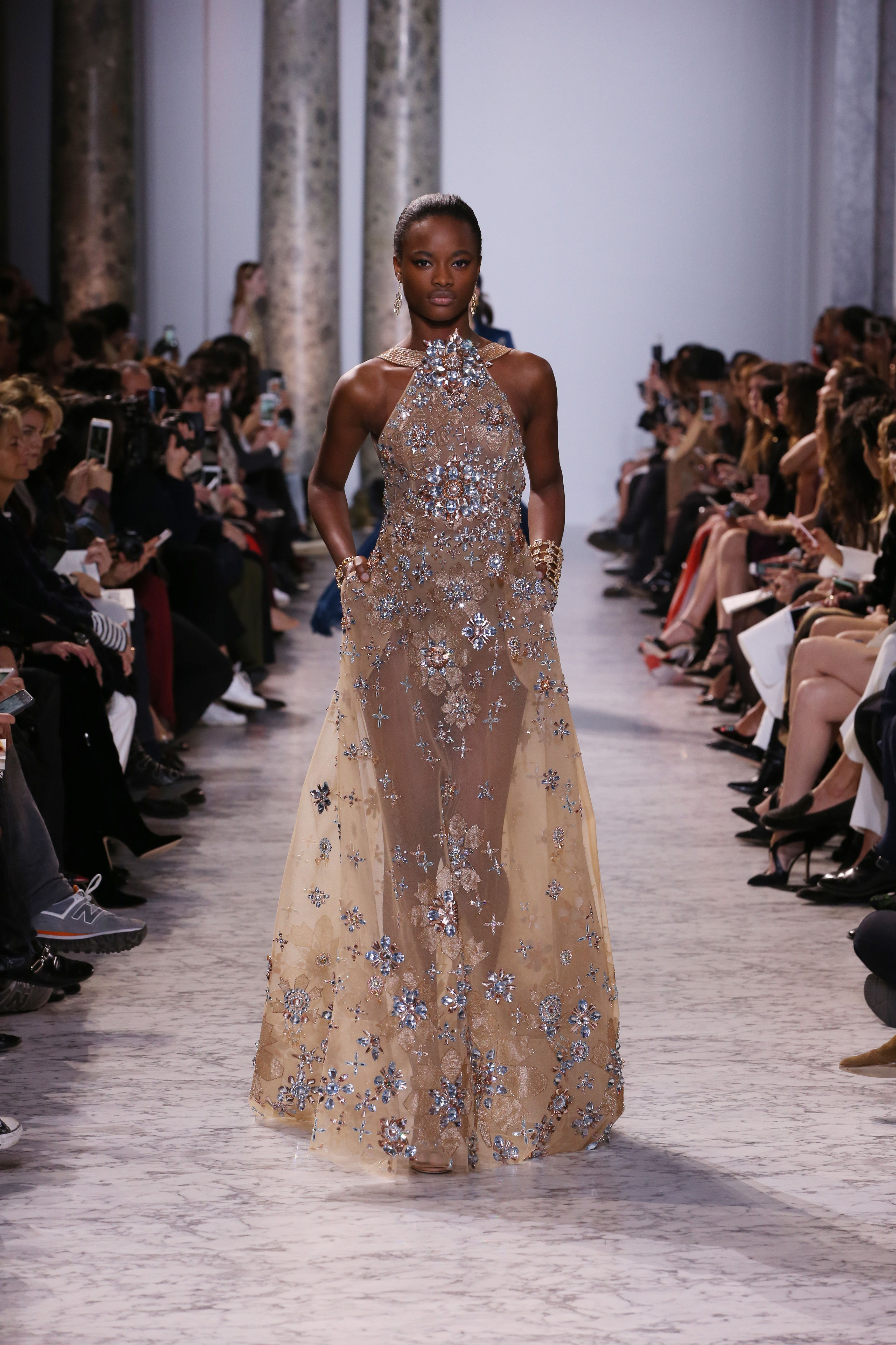 ELIE SAAB Haute Couture Spring Summer 2017 | Couture Dresses ...