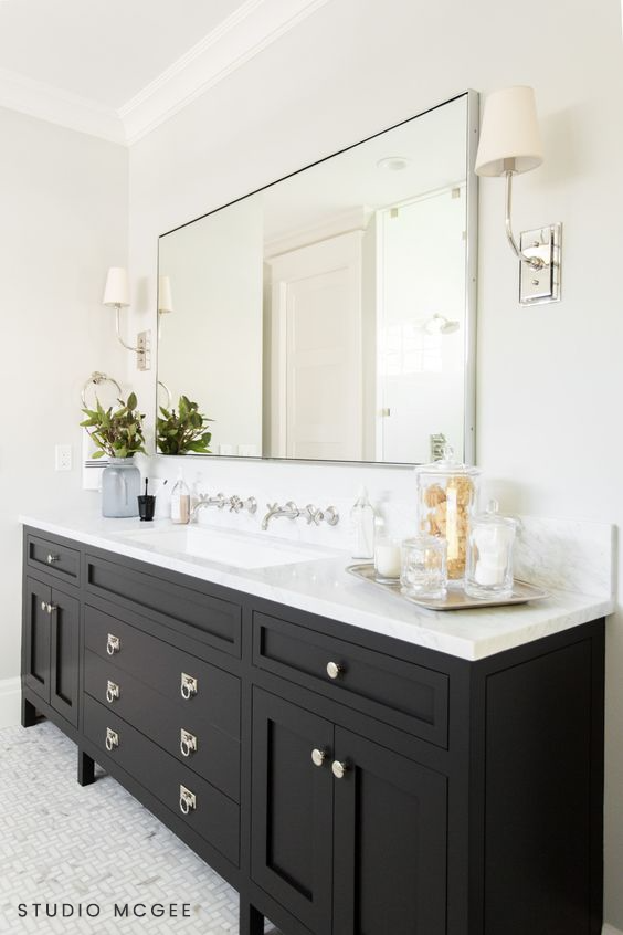 Daily Find With Images Black Vanity Bathroom Farmhouse