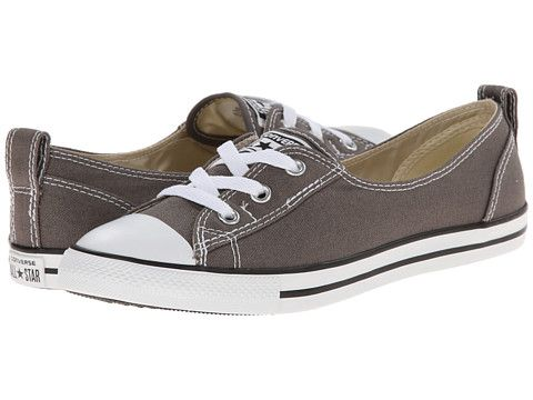 fa5151ff6f16 Converse Chuck Taylor® All Star® Ballet Lace Slip Charcoal - Zappos.com  Free Shipping BOTH Ways