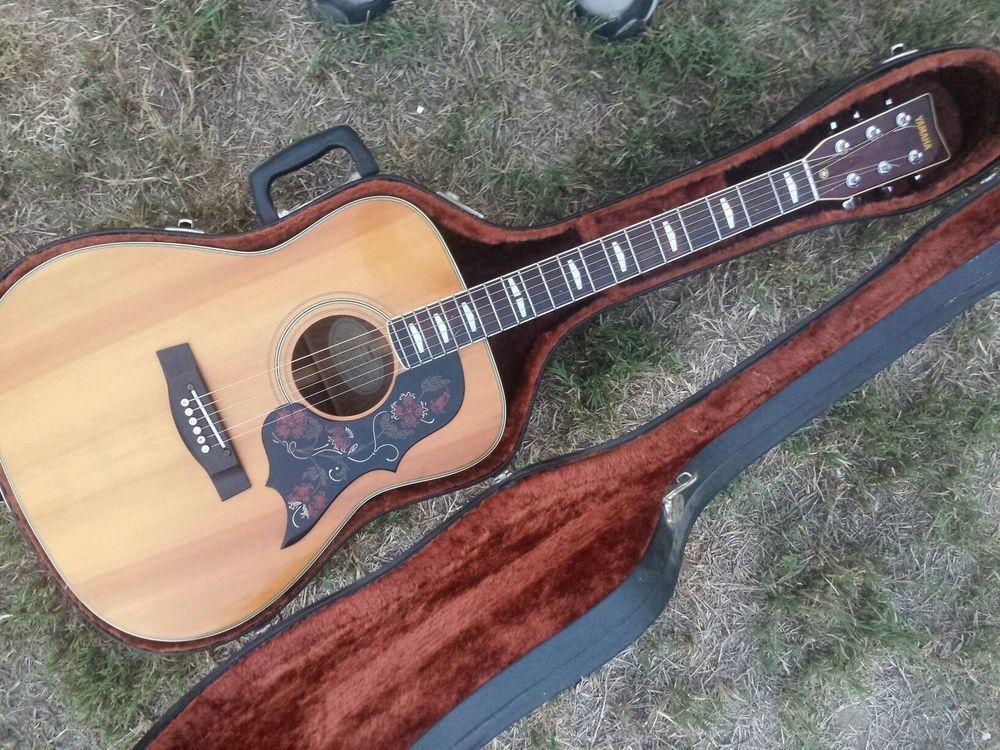 For sale yamaha fg 350w vintage acoustic guitar fg 350 w for Yamaha acoustic guitar ebay