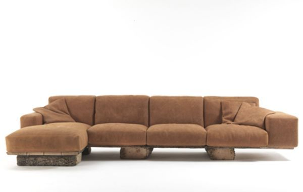 Exotic Wooden Rustic Sofa Provides Eco Friendly Comfort And Coziness Furniture