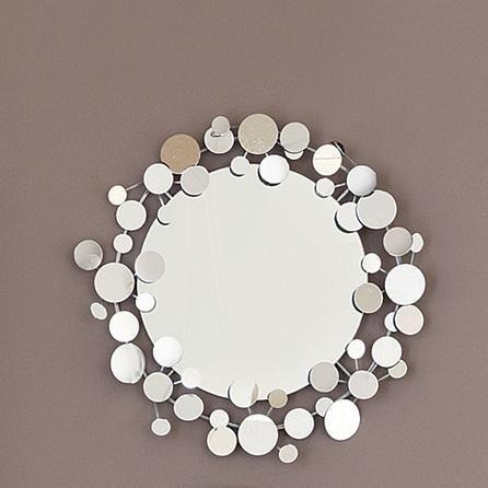 Bling Round Mirror