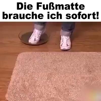 Photo of Keine schmutzigen Schuh- 👟 und Pfotenabdrücke 🐾 mehr auf dem Boden! 👌👌