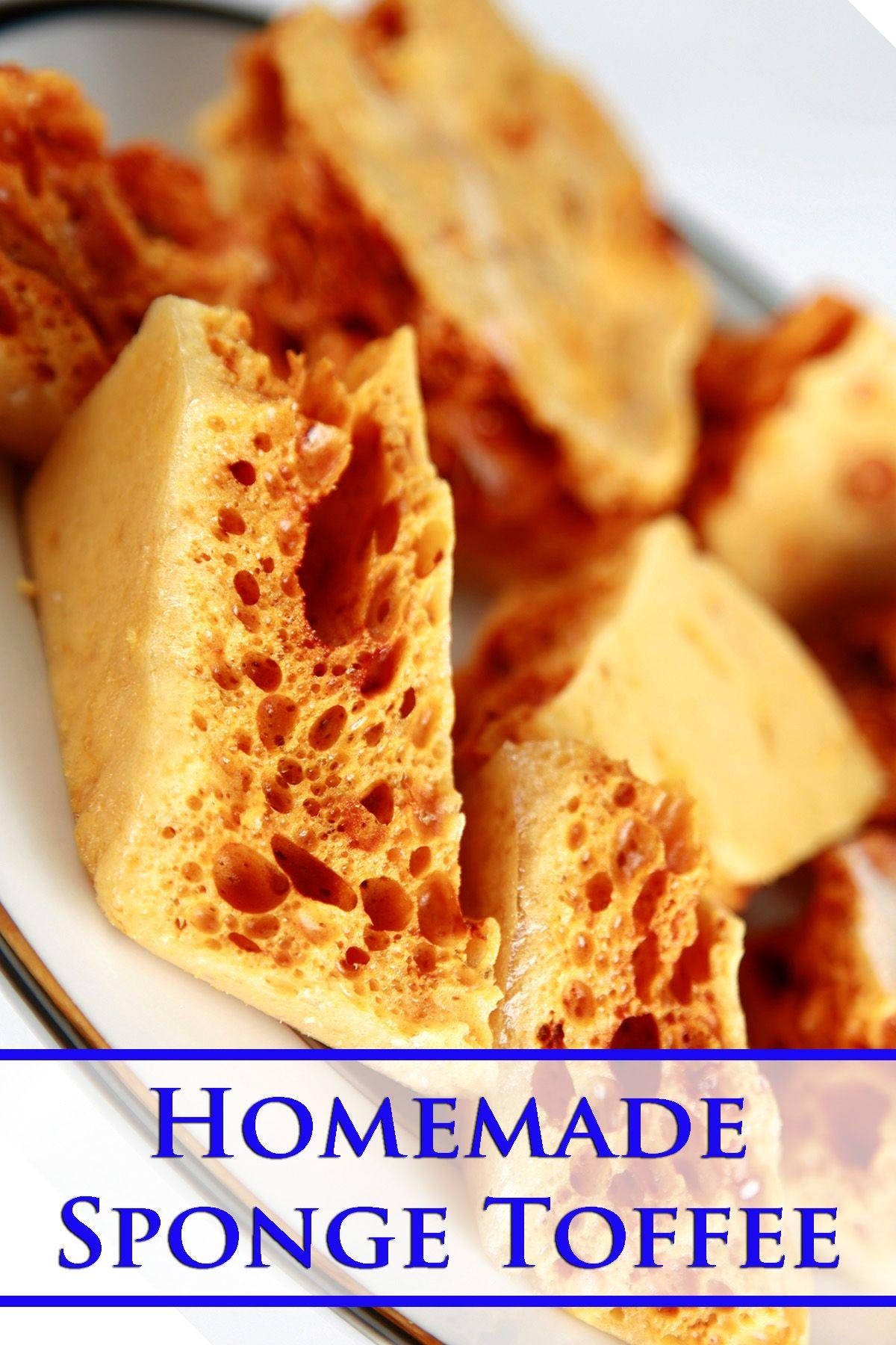 Photo of Sponge Toffee Recipe
