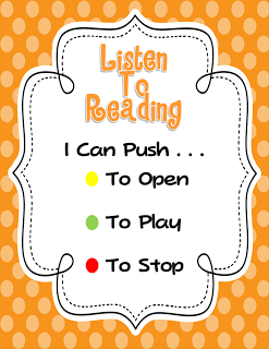 Kindergaten Daily 5 Link up and FREEBIES.