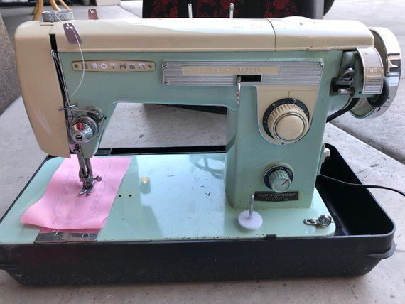 Brother Galaxie 40 Sewing Machine Vintage With Manual Fully Magnificent Brother Ja 28 Sewing Machine Manual