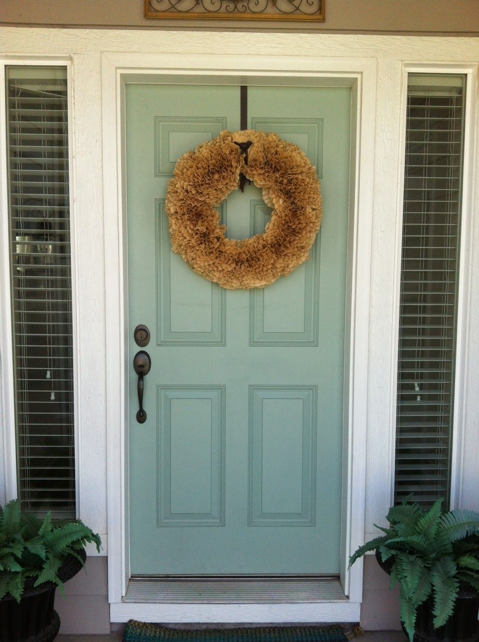 Benjamin moore front door paint colors - Beige House Front Door Paint Color Schemes Blue Is Calming