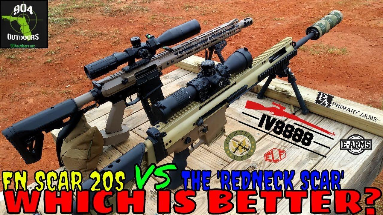 FN SCAR 20S VS  The