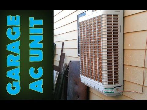 Air Conditioning For The Garage Swamp Cooler Cooler Designs Desert Cooler