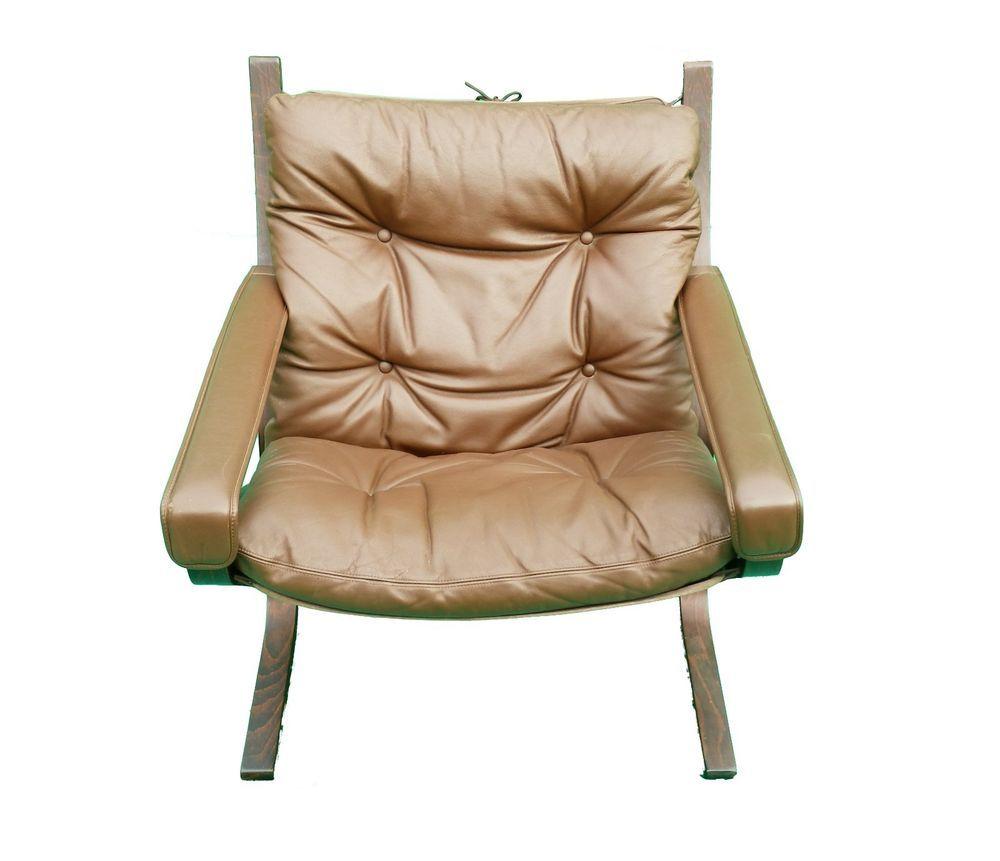 Mid Century Norwegian Ingmar Relling Westnofa Siesta Leather Lounge Arm Chair Leather Lounge Chair Armchair