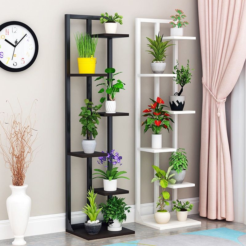 New Nice Beautiful Standing Flower Shelf Living Room Balcony