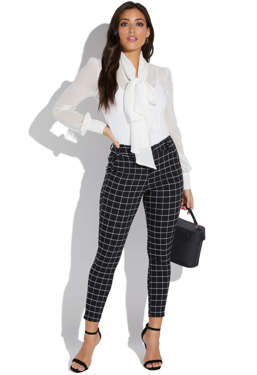 a6d3ee1901e Windowpane slim pant in 2019 | 0 Sort #1 | Pinterest | Slim pants ...