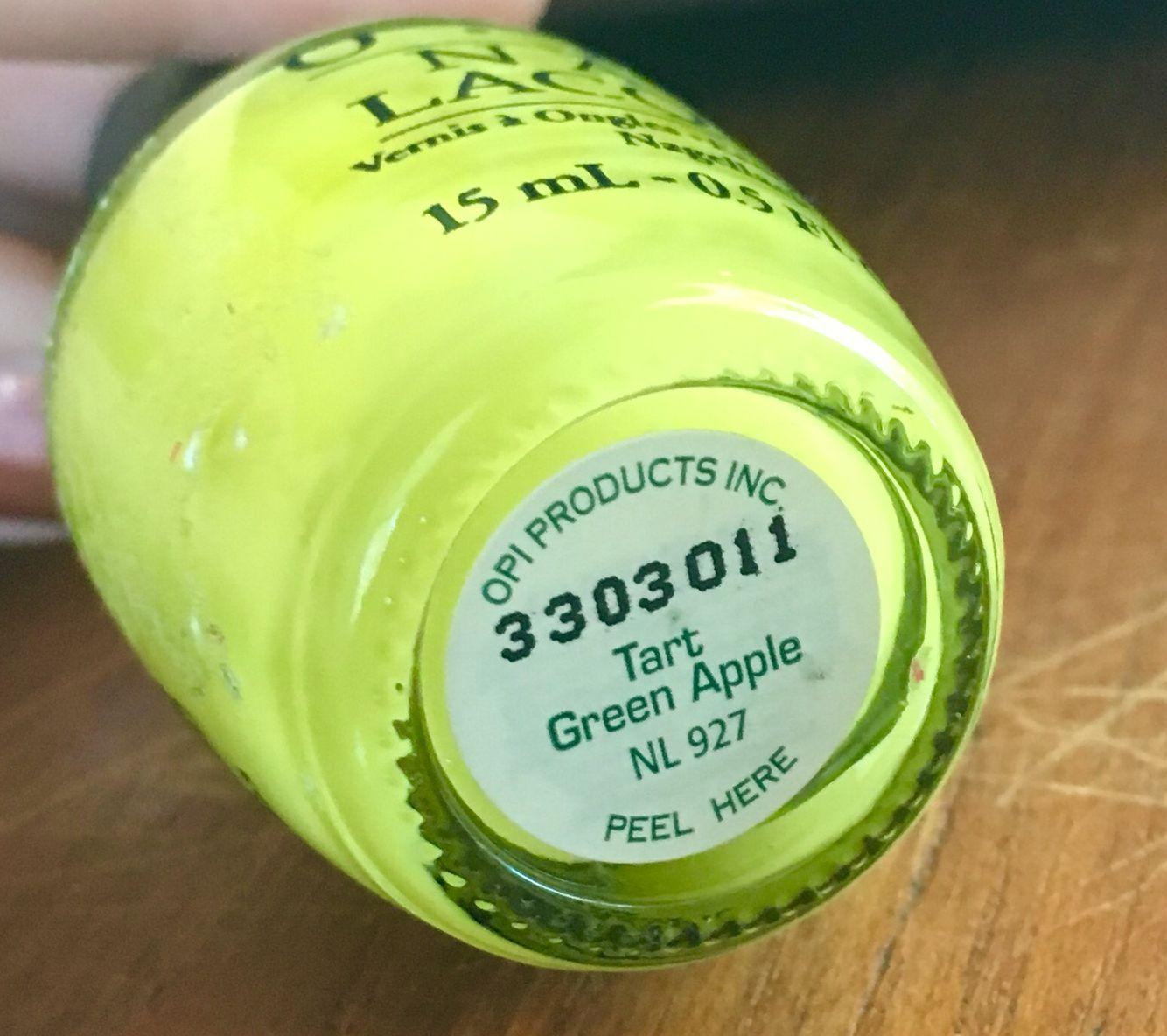 Opi Tart Green Le Nl 927 Htf Awesome Fall Color 14