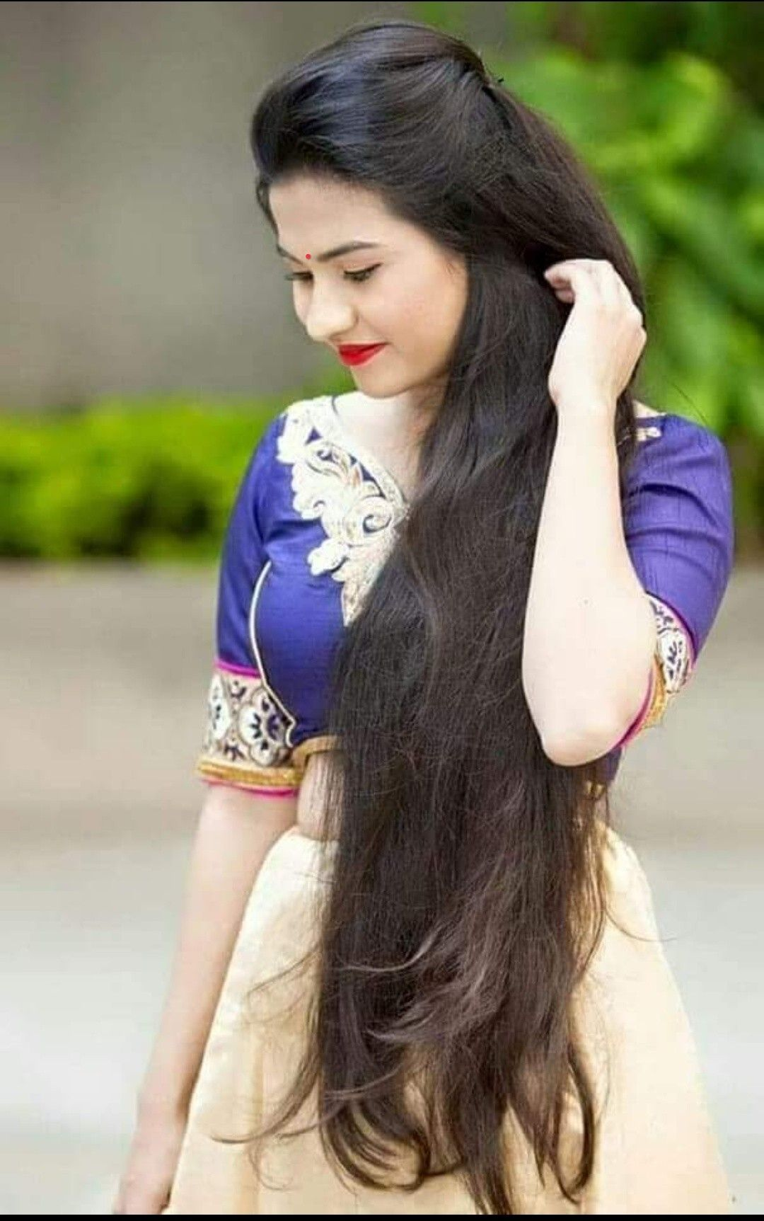 Pinterest Yashu Kumar Beauty In Saree Long Hair Styles Hair Styles Long Hair Girl