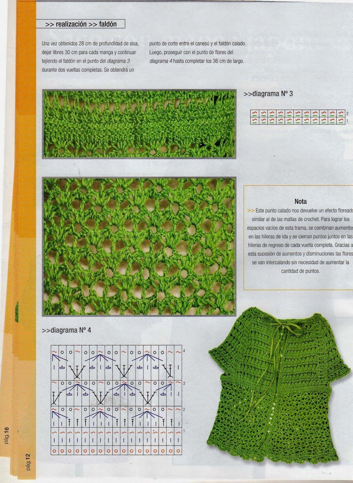 CROCHET TUNECINO | Tunisian Crochet | Pinterest | Crochet tunecino ...
