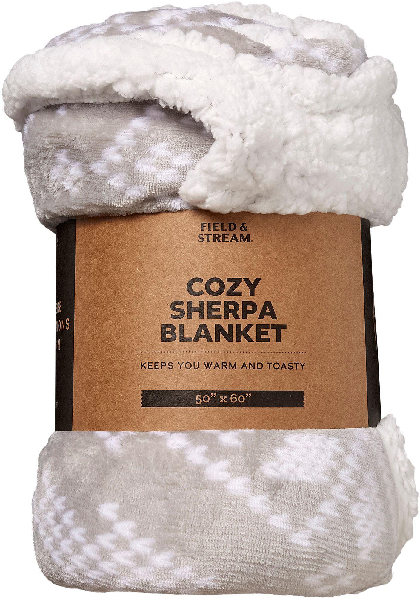 Field stream cozy sherpa blanket cozy sherpa sherpa