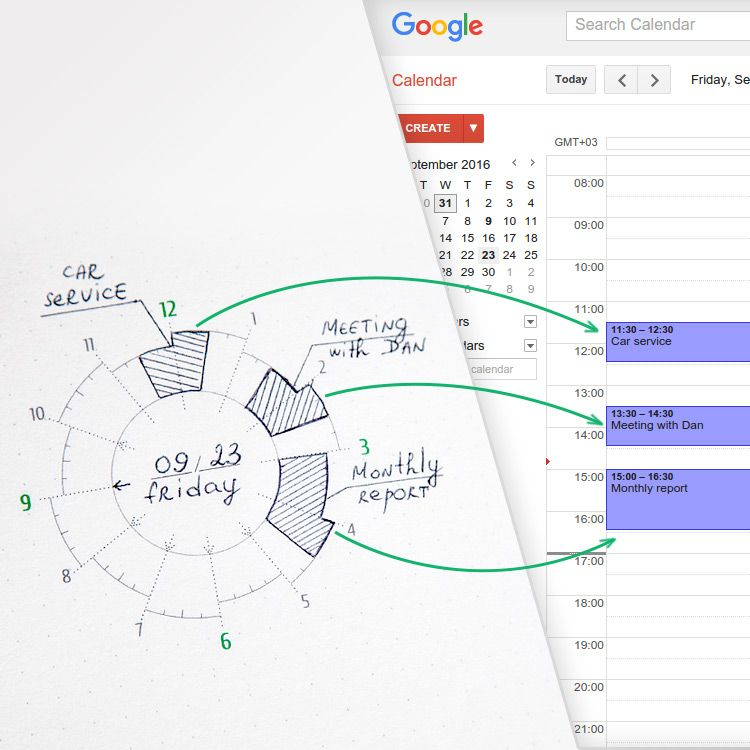 Can`t decide between paper planner or digital calendar? We`ve got you covered. Simple way to merge your physical planner to smartphone calendar for productivity boost.