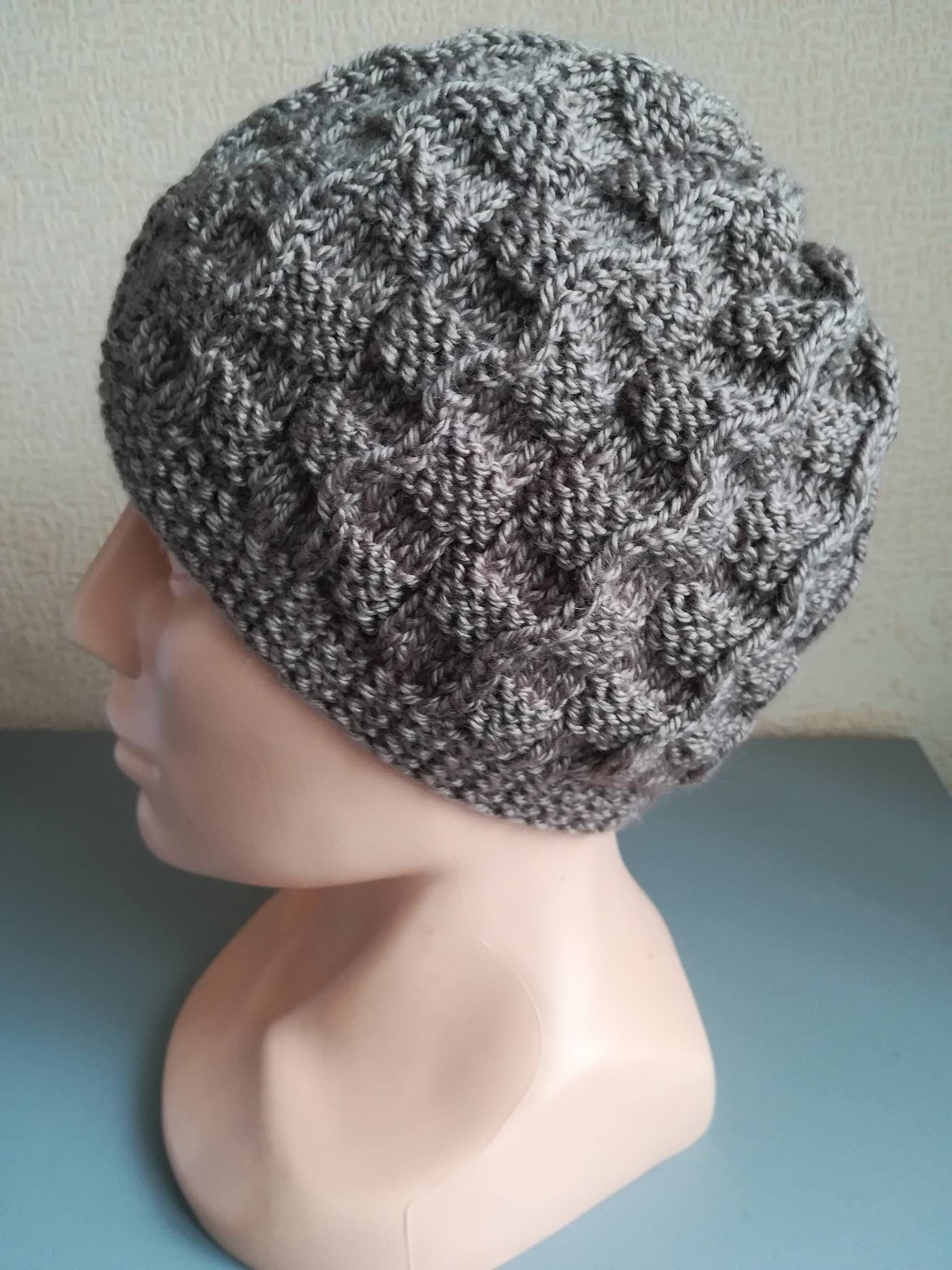 Winter Hat Women s wooly hat Winter Hat Hat with plaits Slouch Beanie  Winter apparel Unisex Wool Cable Slouchy Beanie Slouch Beanie by VIKcraft  on Etsy e333cff395