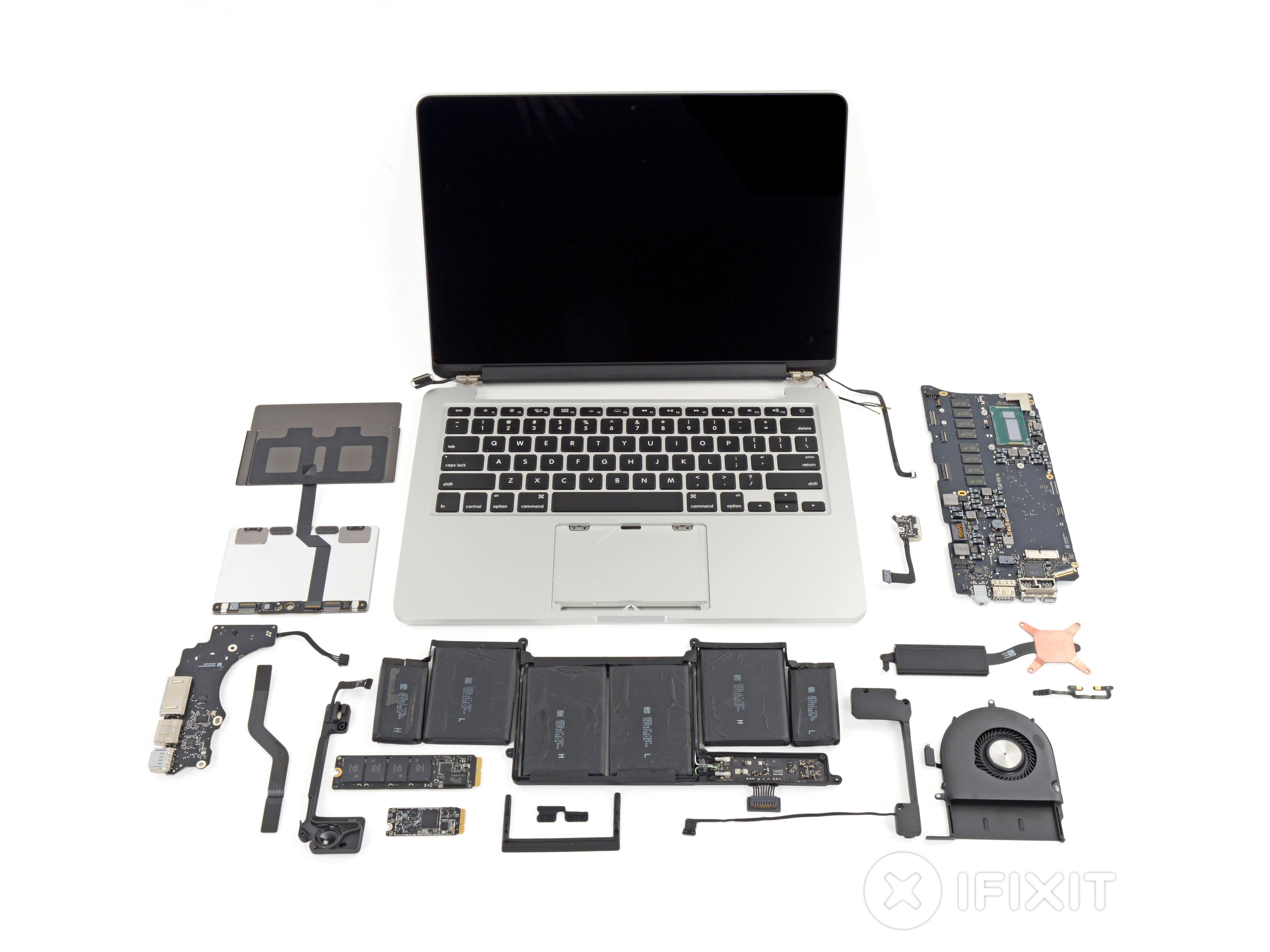 Macbook Pro 13 Retina Display Late 2013 Teardown Macbook Pro