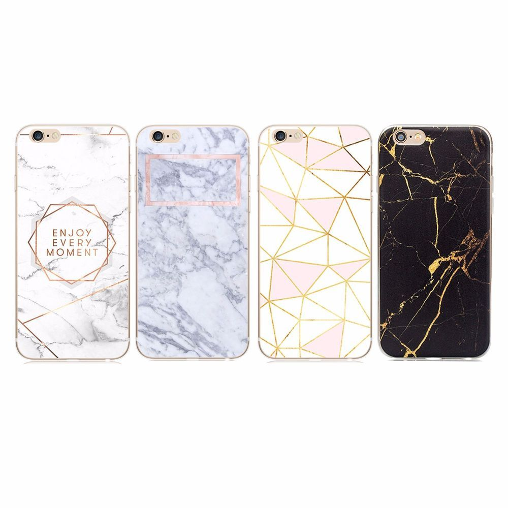 Handyhulle Schutz Cover Silikon Case Iphone 4 5 6 7 Plus Marmor Gold Rosegold Iphone 4 Handyhullen Iphone 6 Iphone Handyhulle