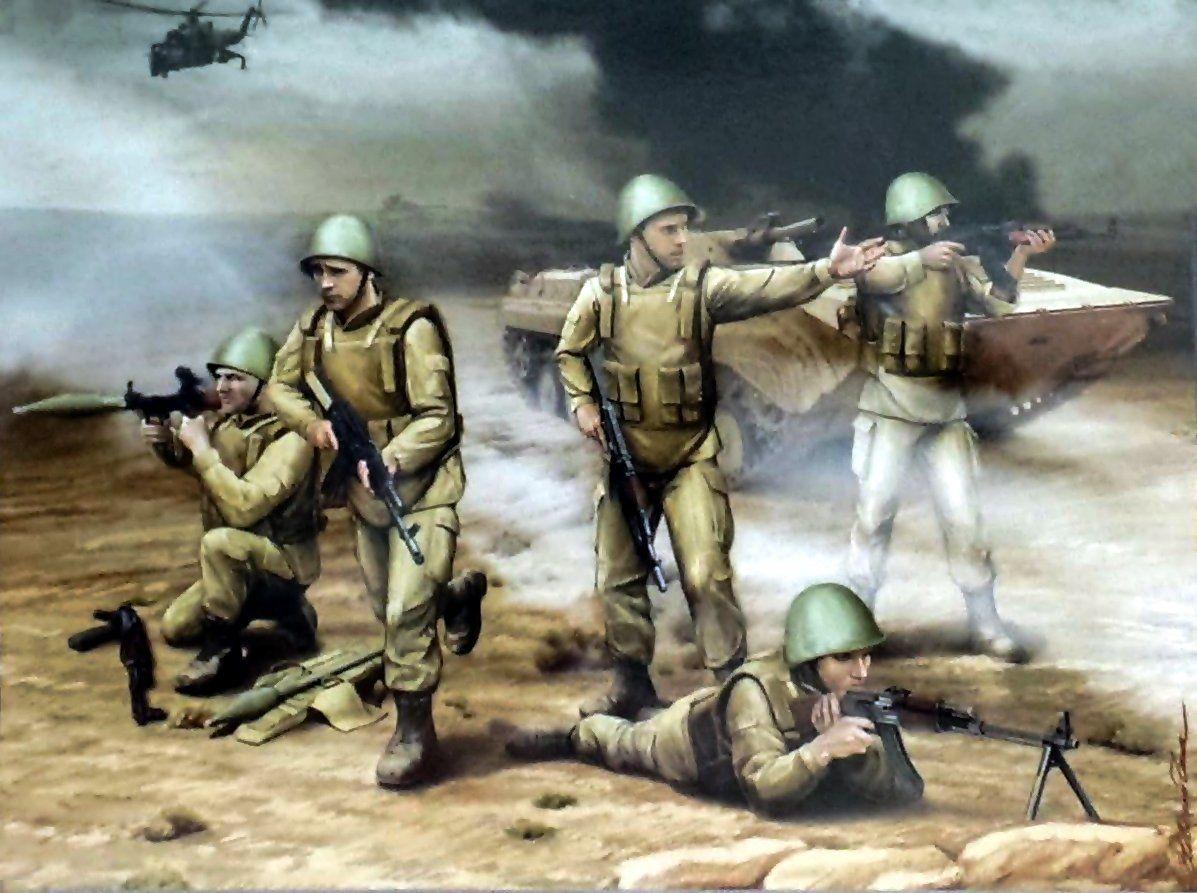 Soviet Motorised Infantry In Afghanistan Soviet Afghan