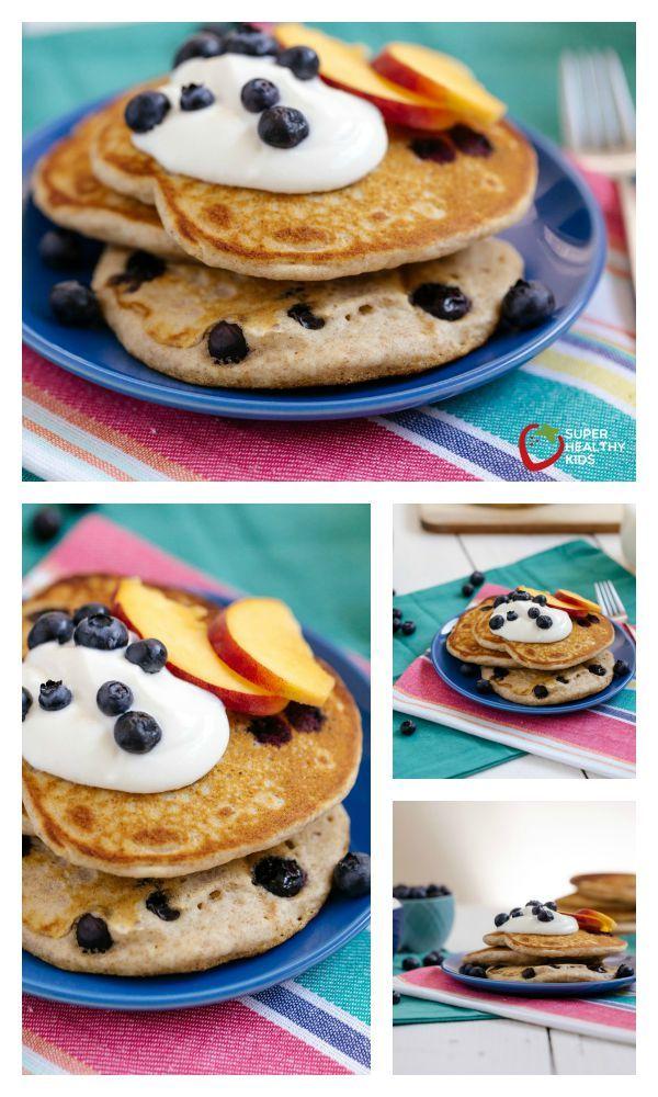 Buckwheat Pancake Recipe - A delicious variation on an all grain pancake! http://www.superhealthykids.com/buckwheat-pancakes/