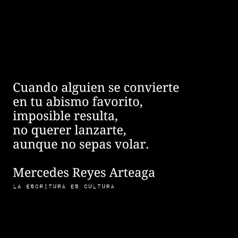 Abismo....Mercedes Reyes Arteaga