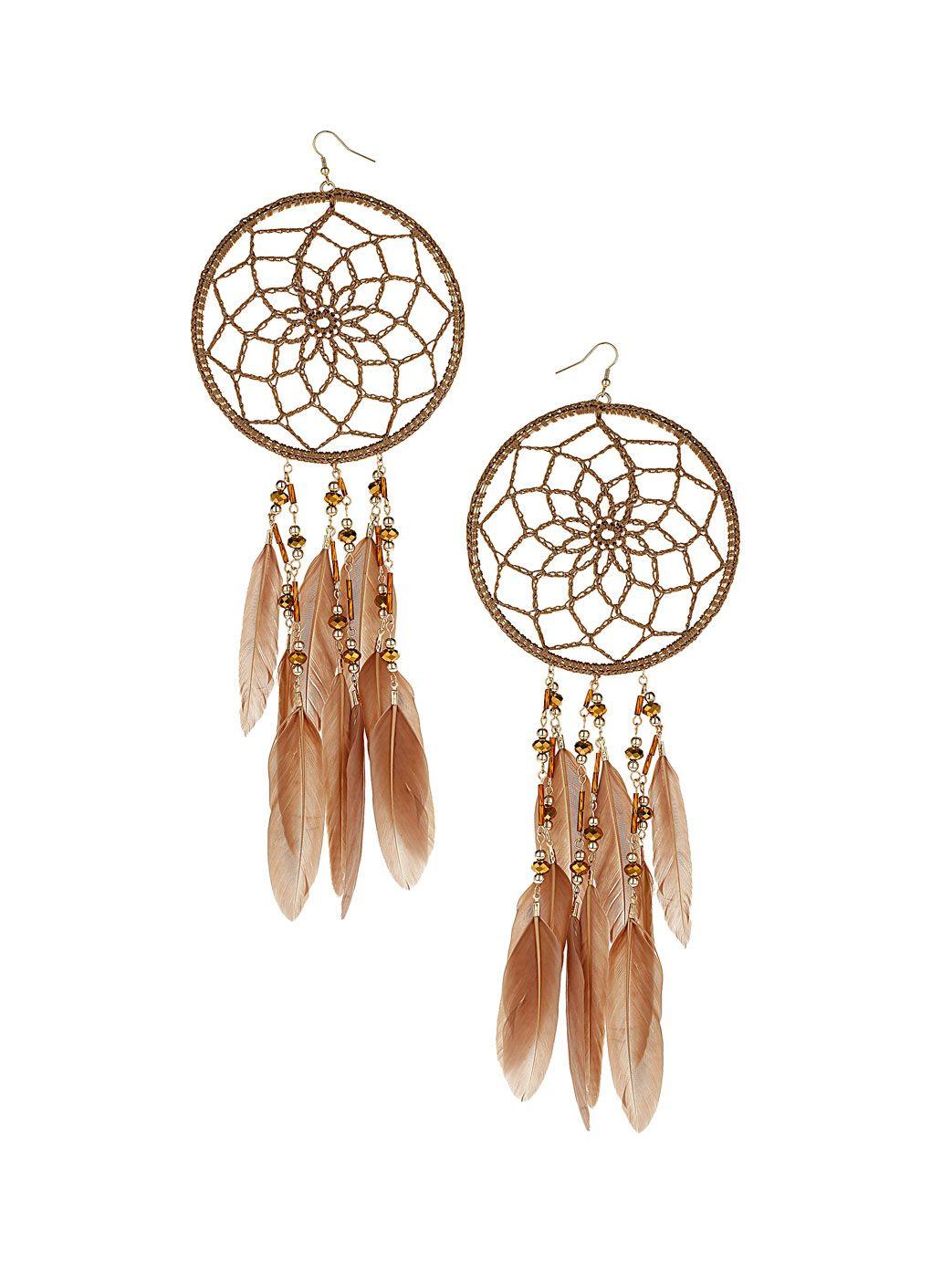 Dream catcher earrings. | Bling me | Pinterest | Dream ...