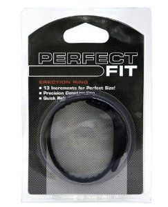 """Speed Shift 17 Adjustments Cock Ring - Black by CRN. $24.99. Adjustable. From Perfect Fit Brand comes the Speed Shift 17 Adjustments Cock Ring. This ring is full of surprises. Amazingly adjustable with a quick release and low stretch makes it a superb restrictive cock ring. The ball rope works in synergy with the ball guide to allow easy adjusting of the ring while in use. The .2"""" increments are designed so that every man can get the perfect fitting ring. Combined with ..."""