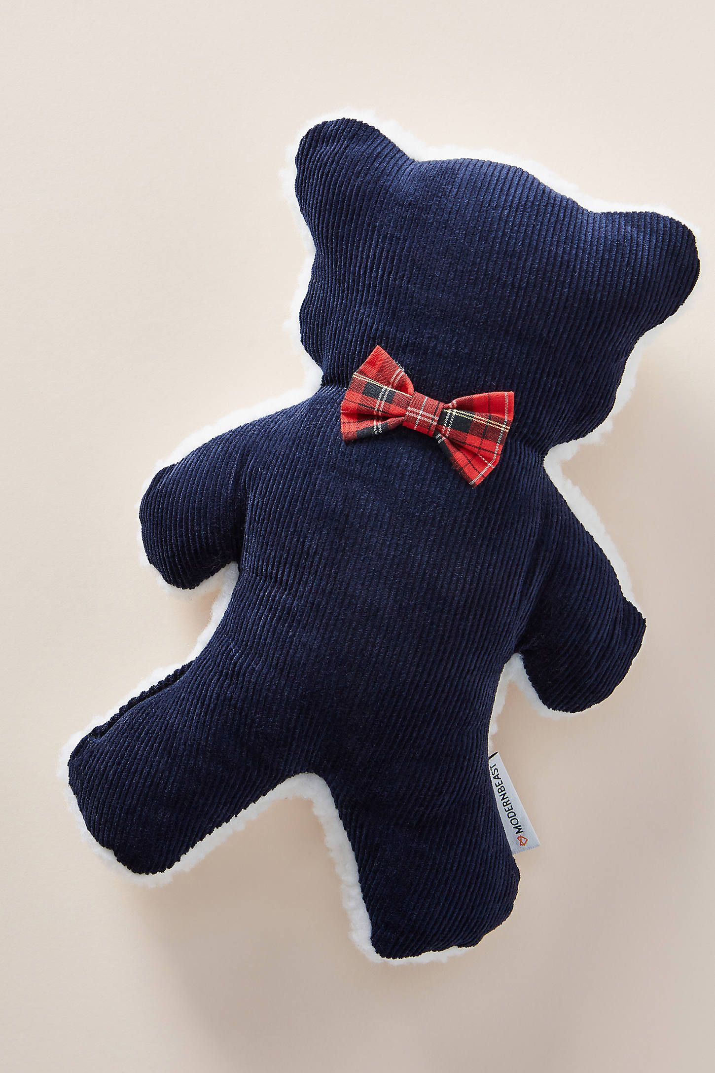 Lavender Bedtime Bear Dog Toy By Modernbeast In Blue Stationery