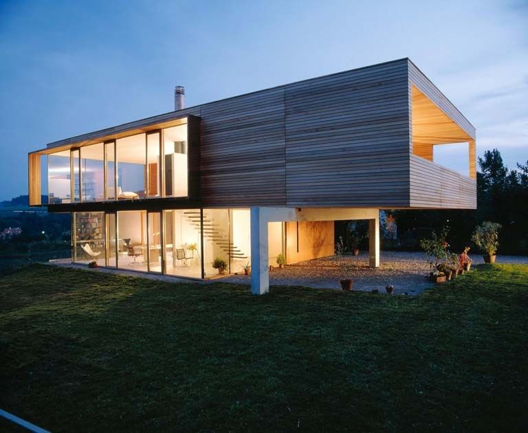 Hausfassade Modern Gestalten - sourcecrave.com -