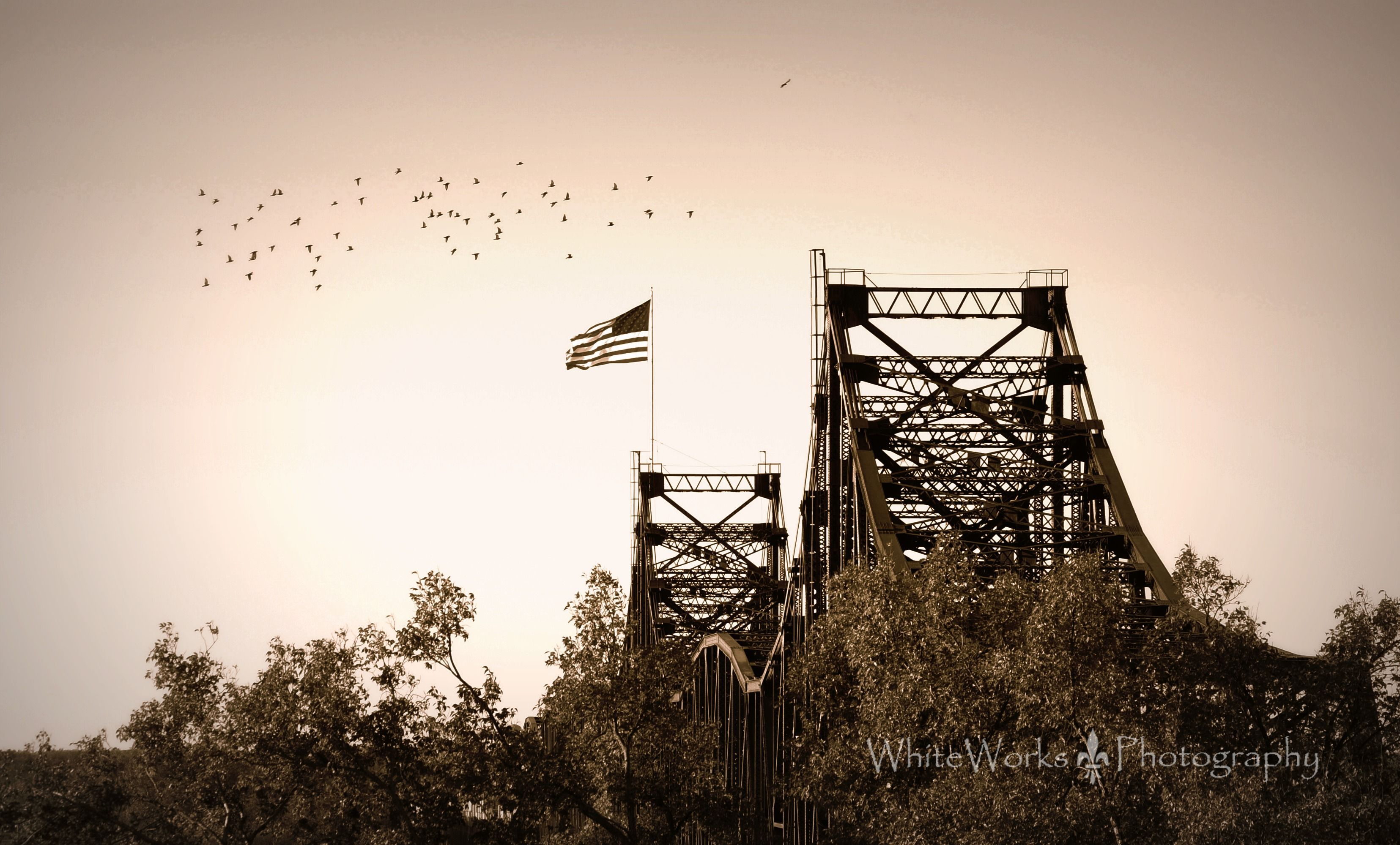 Old Vicksburg Bridge Mississippi