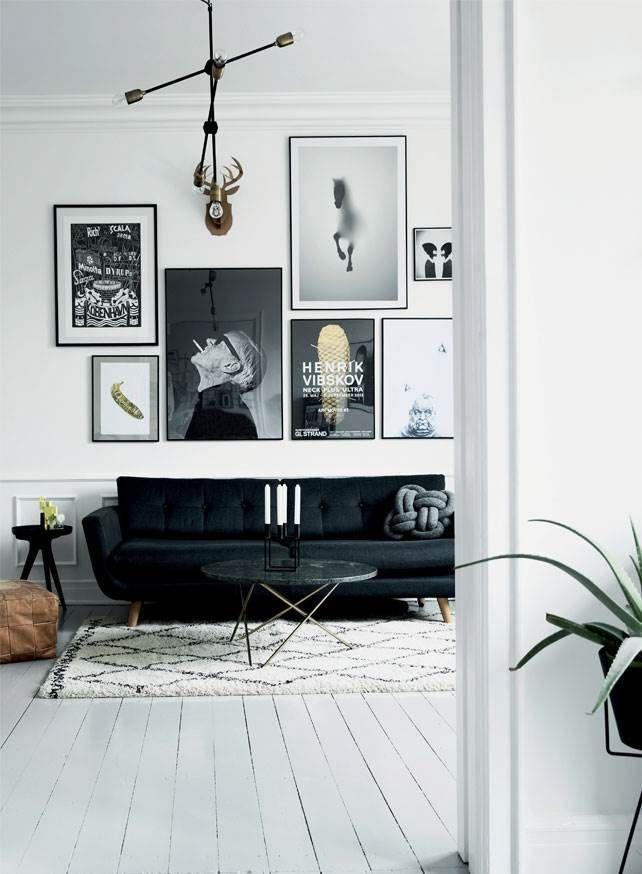 Lejlighed med ideer: Rå og modig indretning - Boligliv - ALT.dk #stueindretning