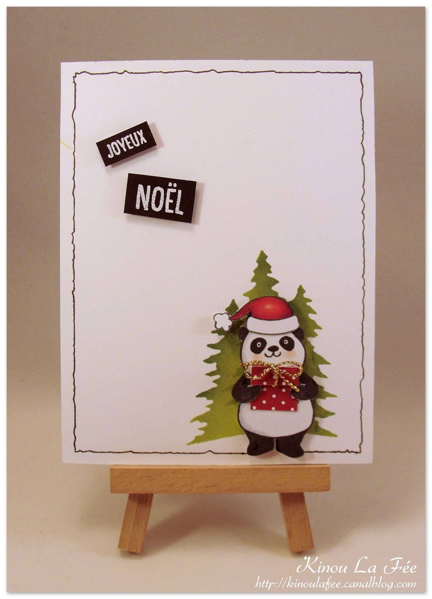 carte scrap noel 2018 Carte Pandas Festifs Noël 2   SU! Frühlingsmini / SAB 2018  carte scrap noel 2018