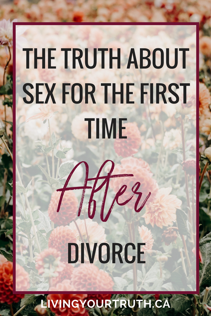 Sex the first time after divorce