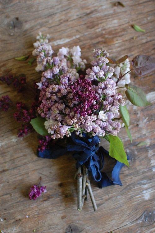 A Bundle Of Lilacs Lilac Bouquet Flower Arrangements Beautiful Flowers